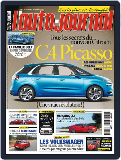 L'auto-journal March 22nd, 2013 Digital Back Issue Cover