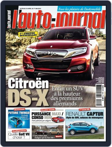 L'auto-journal (Digital) April 19th, 2013 Issue Cover