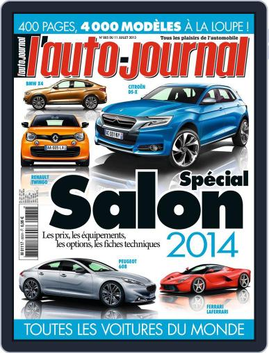 L'auto-journal July 10th, 2013 Digital Back Issue Cover
