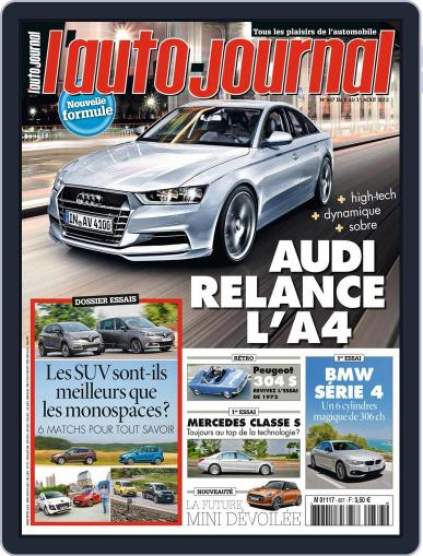 L'auto-journal (Digital) August 9th, 2013 Issue Cover