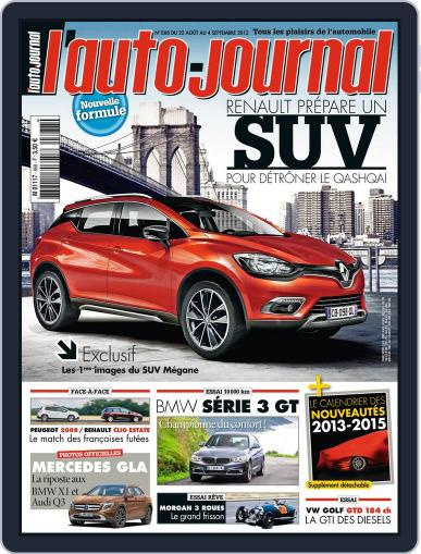 L'auto-journal (Digital) August 22nd, 2013 Issue Cover