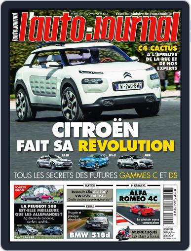 L'auto-journal (Digital) October 16th, 2013 Issue Cover