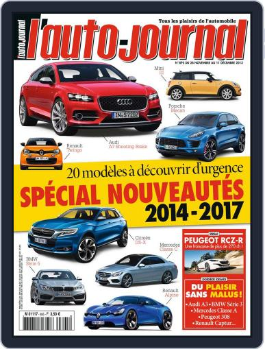 L'auto-journal November 28th, 2013 Digital Back Issue Cover