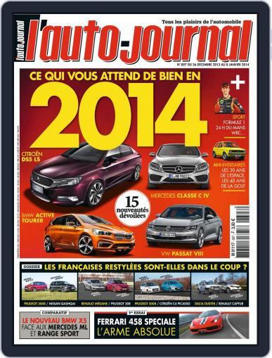 L'auto-journal (Digital) December 27th, 2013 Issue Cover