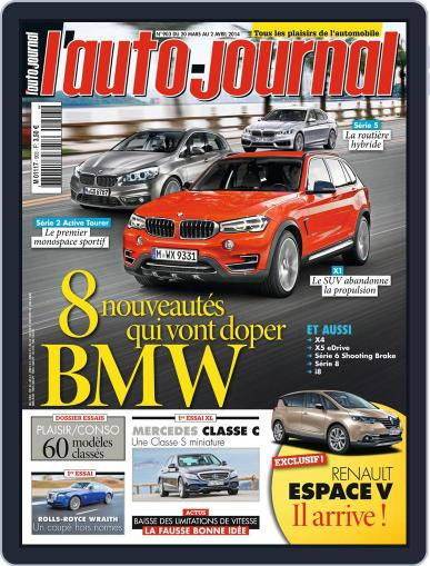 L'auto-journal (Digital) March 19th, 2014 Issue Cover