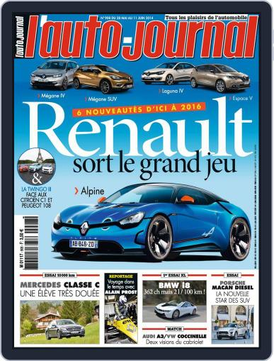 L'auto-journal (Digital) May 27th, 2014 Issue Cover