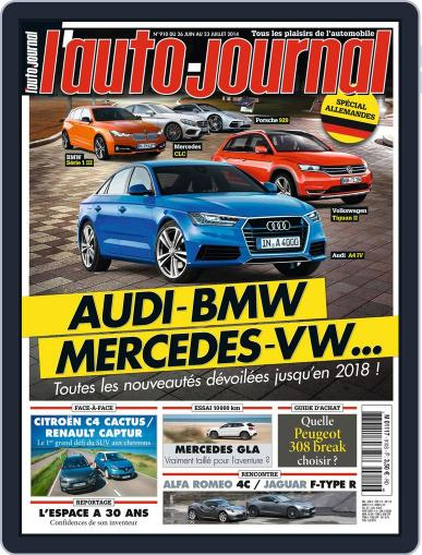 L'auto-journal (Digital) June 25th, 2014 Issue Cover