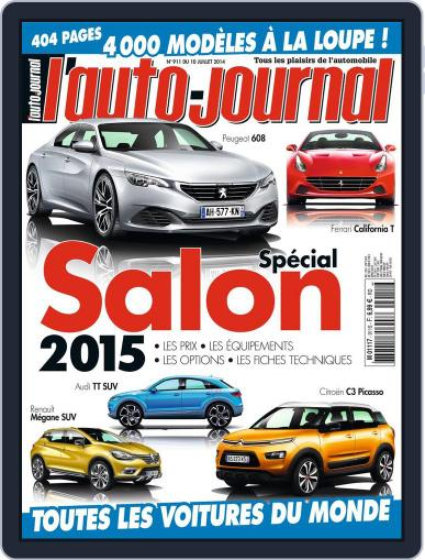 L'auto-journal July 9th, 2014 Digital Back Issue Cover