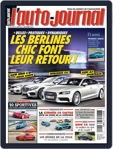 L'auto-journal August 20th, 2014 Digital Back Issue Cover