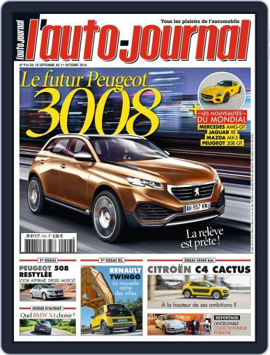 L'auto-journal (Digital) September 18th, 2014 Issue Cover