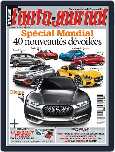 L'auto-journal October 2nd, 2014 Digital Back Issue Cover