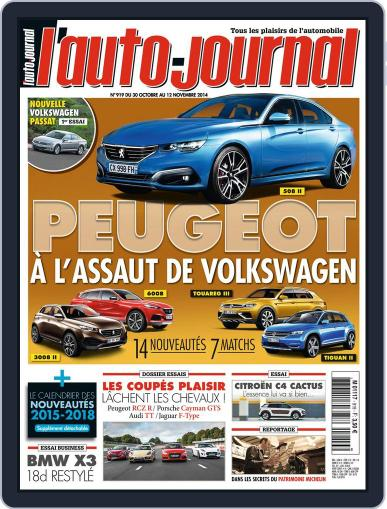 L'auto-journal (Digital) October 29th, 2014 Issue Cover