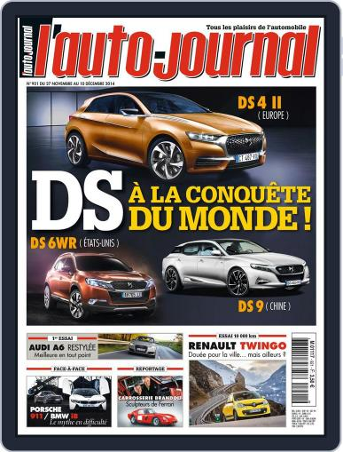 L'auto-journal (Digital) November 26th, 2014 Issue Cover