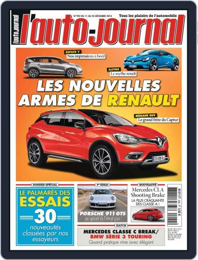 L'auto-journal (Digital) December 10th, 2014 Issue Cover