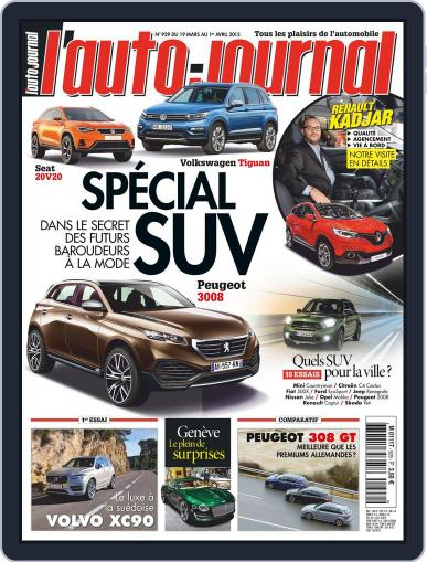 L'auto-journal (Digital) March 19th, 2015 Issue Cover