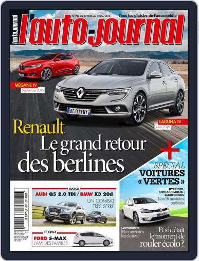 L'auto-journal (Digital) April 29th, 2015 Issue Cover
