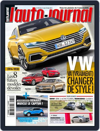 L'auto-journal (Digital) May 12th, 2015 Issue Cover
