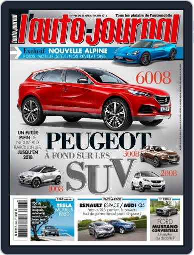 L'auto-journal May 27th, 2015 Digital Back Issue Cover