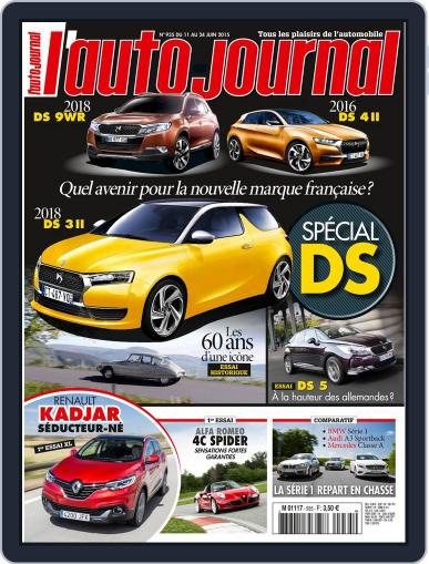 L'auto-journal June 10th, 2015 Digital Back Issue Cover
