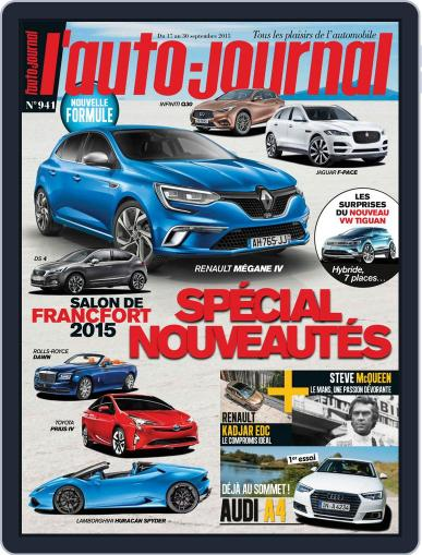 L'auto-journal September 16th, 2015 Digital Back Issue Cover