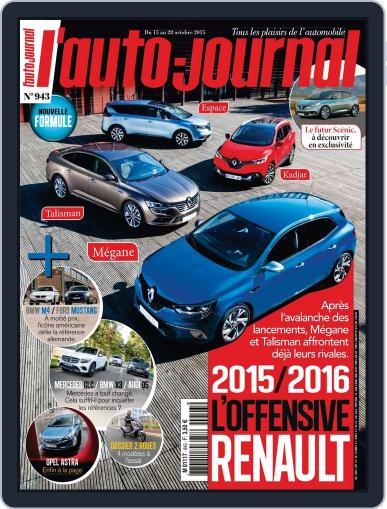 L'auto-journal (Digital) October 14th, 2015 Issue Cover