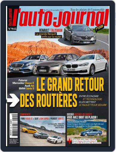 L'auto-journal November 12th, 2015 Digital Back Issue Cover