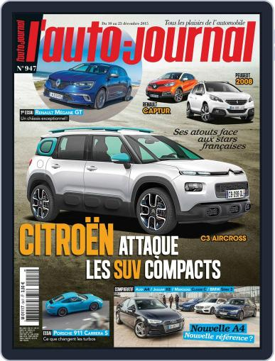 L'auto-journal December 10th, 2015 Digital Back Issue Cover