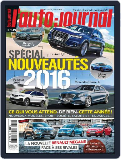 L'auto-journal January 8th, 2016 Digital Back Issue Cover
