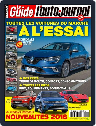 L'auto-journal January 28th, 2016 Digital Back Issue Cover