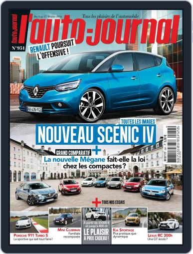 L'auto-journal (Digital) February 4th, 2016 Issue Cover
