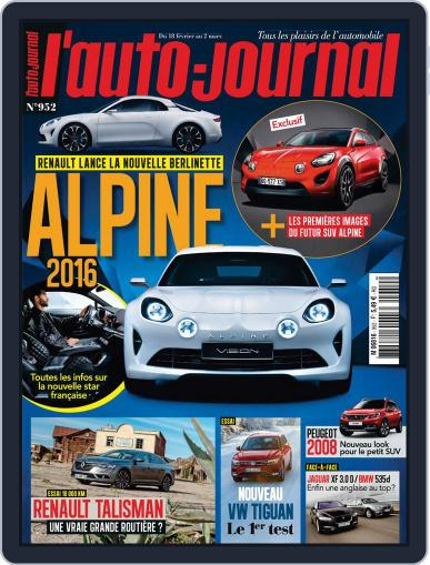 L'auto-journal February 18th, 2016 Digital Back Issue Cover