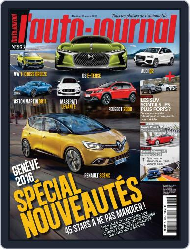 L'auto-journal (Digital) March 3rd, 2016 Issue Cover