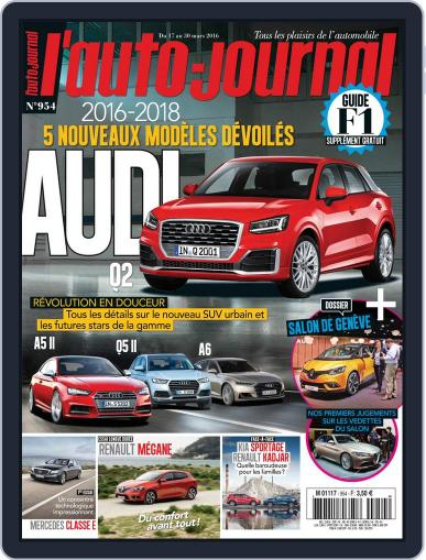 L'auto-journal (Digital) March 17th, 2016 Issue Cover