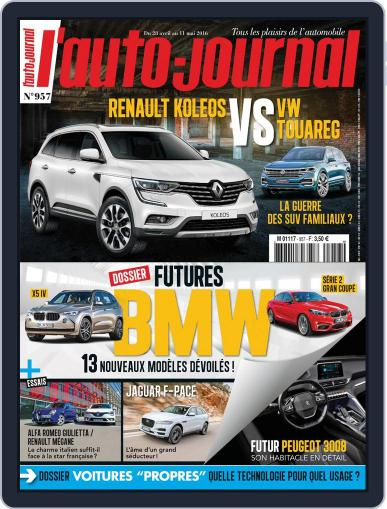 L'auto-journal (Digital) April 28th, 2016 Issue Cover