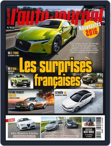 L'auto-journal May 12th, 2016 Digital Back Issue Cover