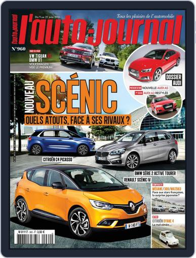 L'auto-journal June 9th, 2016 Digital Back Issue Cover