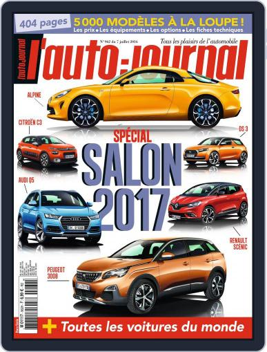 L'auto-journal July 7th, 2016 Digital Back Issue Cover