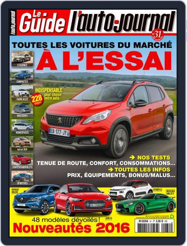 L'auto-journal (Digital) July 28th, 2016 Issue Cover