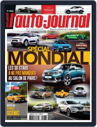 L'auto-journal September 15th, 2016 Digital Back Issue Cover
