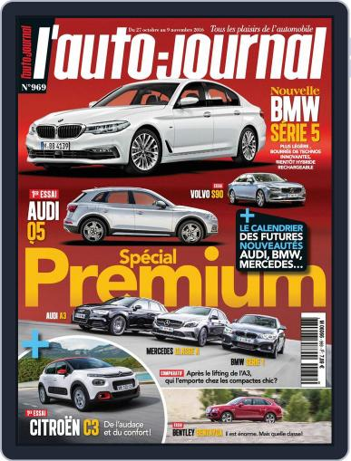 L'auto-journal (Digital) October 27th, 2016 Issue Cover