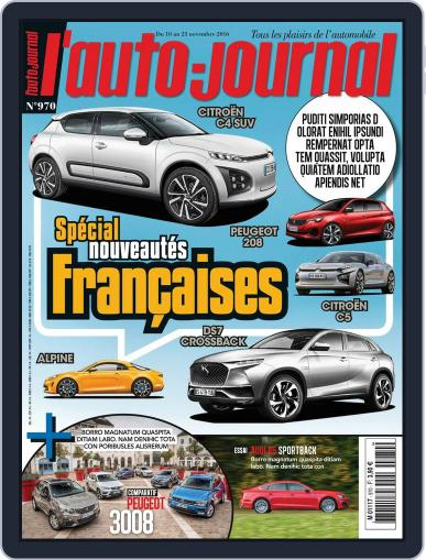 L'auto-journal November 10th, 2016 Digital Back Issue Cover