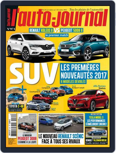 L'auto-journal (Digital) November 24th, 2016 Issue Cover