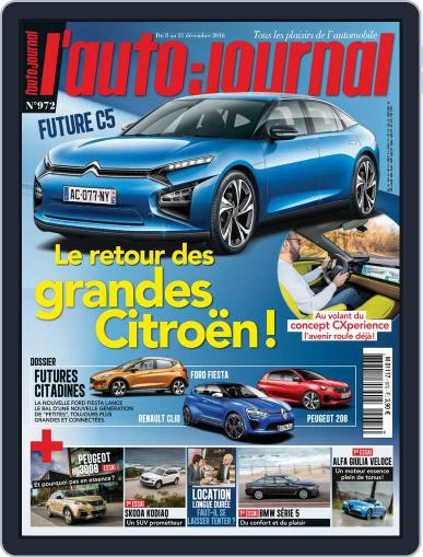 L'auto-journal (Digital) December 8th, 2016 Issue Cover