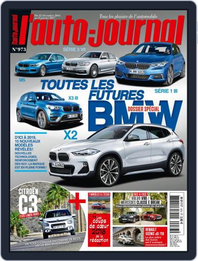 L'auto-journal (Digital) December 22nd, 2016 Issue Cover