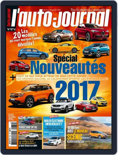 L'auto-journal (Digital) January 5th, 2017 Issue Cover