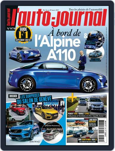 L'auto-journal (Digital) March 16th, 2017 Issue Cover