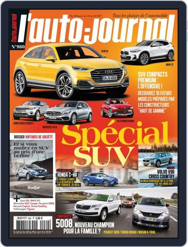 L'auto-journal March 30th, 2017 Digital Back Issue Cover