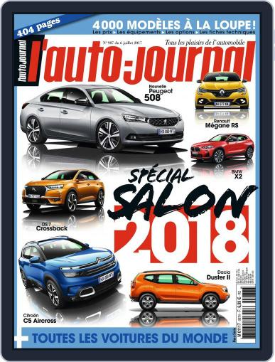 L'auto-journal July 6th, 2017 Digital Back Issue Cover