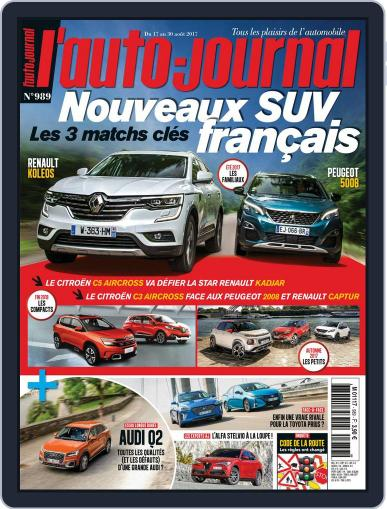 L'auto-journal (Digital) August 17th, 2017 Issue Cover