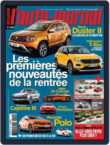 L'auto-journal (Digital) August 31st, 2017 Issue Cover